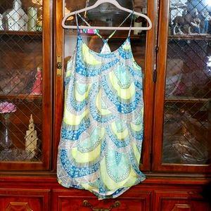 O'Neil Large Summer Dress Thin Strap Razorback L